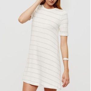 Lou & Gray Cream Stripe Dress